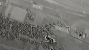 Syrie : raids aériens turcs contre l'Etat islamique, 25/7/15 (image de l'armée turque)