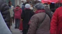 Au marché de Bouzonville, le retour du froid a pris de cours les habitants