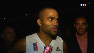 Le 13 heures du 26 septembre 2013 : Les h�s du basket fran�s avec leurs fans �ouilleron-Le-Captif - 1805.3229841308594