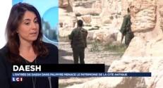 Palmyre : le drapeau de l'Etat Islamique flotte sur la cité antique