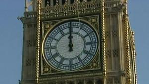 TF1/LCI Grand nettoyage de Big Ben, à Londres