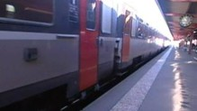 Trains SNCF Corail gare quai