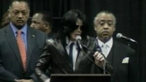 Hommage de Michael Jackson à James Brown