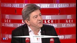 """Jean-Luc Mélenchon au Grand Jury : """"Je ne crois pas qu'il existe des Molenbeeek en France"""""""