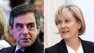 Nadine Morano et François Fillon