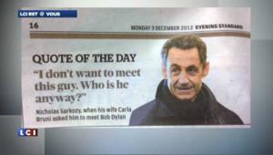 Nicolas Sarkozy ne connait pas Bob Dylan