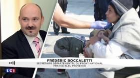 """Boccaletti persiste et signe : les migrants sont """"lâches et égoïstes"""""""