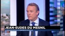 Dialogue social : le frein à l'emploi non résolu dans la proposition selon Du Mesnil