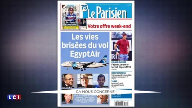 """Disparition du vol EgyptAir : """"Les familles de victimes ont avant tout besoin d'honnêteté"""""""