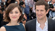 Guillaume Canet et Marion Cotillard  Cannes le 20 mai 2013 pendant le photo-call du film &quot;Blood Ties&quot;