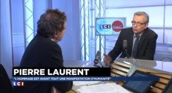 "Hommage national : Pierre Laurent alerte contre ""l'instrumentalisation du sentiment patriotique"""