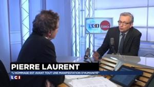 """Hommage national : Pierre Laurent alerte contre """"l'instrumentalisation du sentiment patriotique"""""""