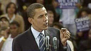 Barack Obama au Texas, le 19 février 2008