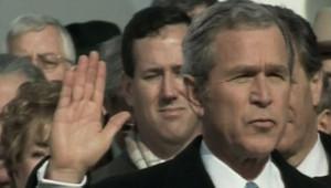 bush investiture 2005