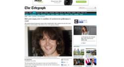 Capture écran The Telegraph
