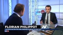 """Départementales : l'UMP et le PS dans """"une campagne haineuse, violente"""", selon Philippot"""