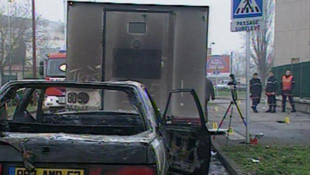 L'attaque d'un fourgon au lance-roquette à Metz, le 15 janvier 2007