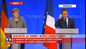 La BCE indépendante : Merkel fait la leçon