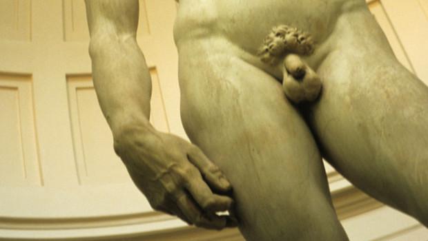 Le David de Michel-Ange à Florence