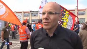 Plan social chez Renault Trucks : cadres et techniciens manifestent sur le site de Vénissieux