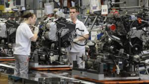 Une usine automobile en Allemagne