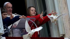 vatican colombes pape François