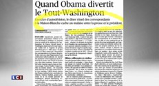 Barack Obama en représentation à Washington