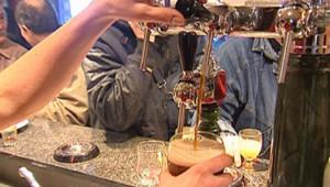 Bière pression bar sortir