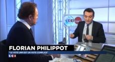 """Départementales : """"Le vote UMP, un vote complice"""", selon Philippot"""