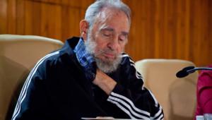 Fidel Castro présentant ses mémoires (3 février 2012)