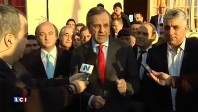 "Grèce : ""Nous gagnerons"" assure Antonis Samaras"