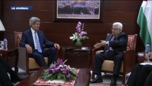 Israëliens et Palestiniens ont jeté les bases d'une reprise des négociations de paix, a annoncé vendredi soir John Kerry.
