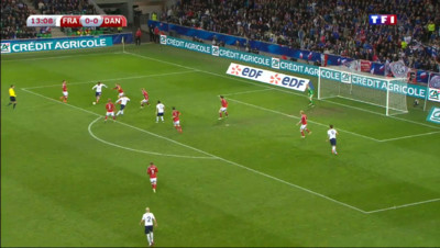 Le 13 heures du 30 mars 2015 : Football : la France remporte le match contre le Danemark - 1820.96