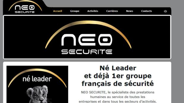 Site Internet de Néo Sécurité