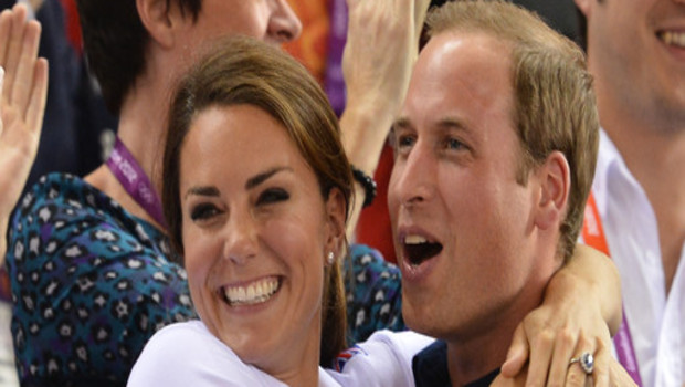 Kate Middleton et William aux JO de Londres