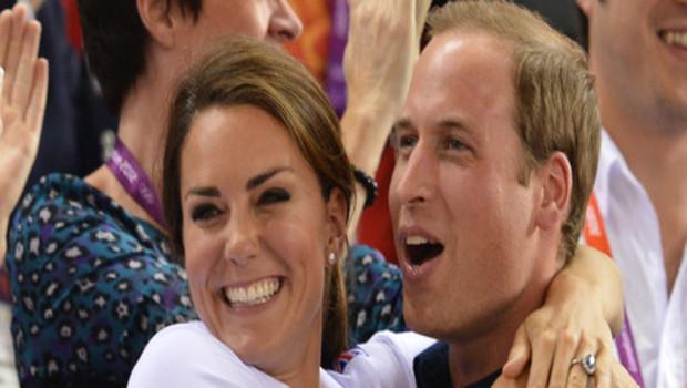 Kate Middleton et William aux JO de Londres