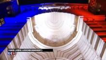 Bleu-blanc-rouge sur la préfecture de police de Paris