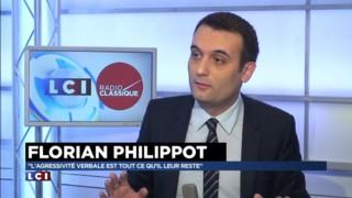 """Débat UMP-FN ? """"Monsieur Sarkozy ne prend plus en dessous de 100.000 dollars"""", tacle Philippot"""