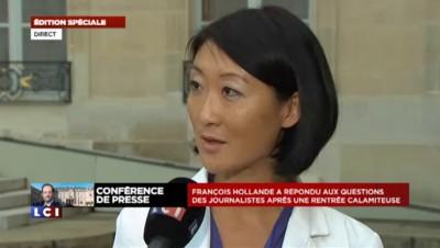"""Fleur Pellerin : """"C'est à l'entreprise d'examiner ces offres"""" pour LCI"""