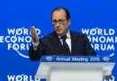 François Hollande à Davos le 23 janvier 2015.