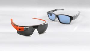 """Google a obtenu d'être le seul utilisateur du mot """"Glass"""" pour ses lunettes (G). Les GlassUp (D) vont devoir changer de nom"""