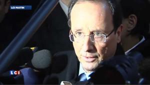 """Hollande : """"j'ai du respect pour le Parti Communiste"""""""