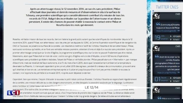 """""""Il est temps de dire au revoir à Philae"""", la touchante déclaration de l'agence spatiale DLR"""