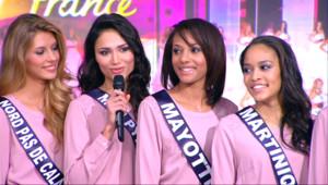 Le 13 heures du 13 novembre 2014 : Miss France : les Miss Mayote, Midi-Pyr�es et Nouvelle-Cal�nie se confient - 2270.8504392700197