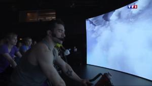Le 13 heures du 21 mars 2015 : Le high-tech fait sa révolution au Salon du fitness - 1107.242