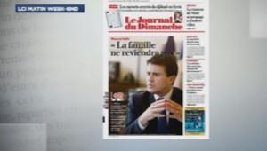 Manuel Valls dans le JDD le 20/10/2013
