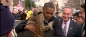 Obama réconforte les victimes de Sandy