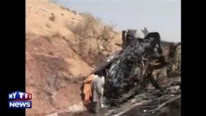 Pakistan : au moins 35 morts dans un carambolage impliquant un camion-citerne