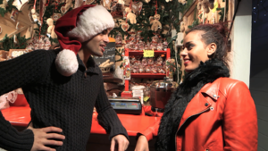 Amel Bent et Christophe, cest Noel avant lheure