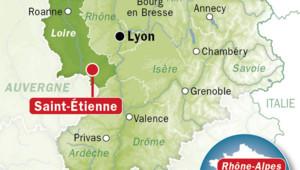 Carte de la Loire